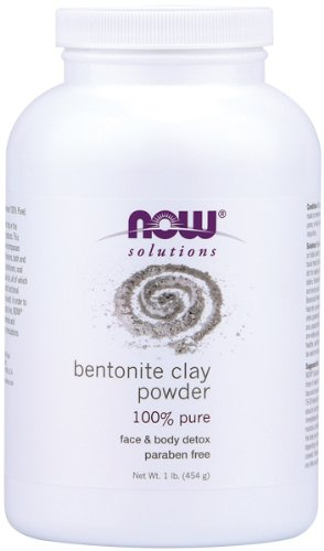 NOW Bentonite Clay Powder 1 Pound