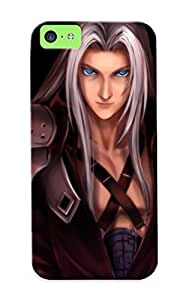 [a2a5a234635]premium Phone Case For Iphone 6 plus (5.5)/ Final Fantasy Vii Fire Sephiroth Anime Tpu Case Cover(best Gift Choice)