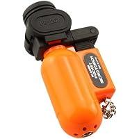 Blazer 189-2188 PB207CR The Torch Butane Refillable Lighter, Blaze Orange by Blazer