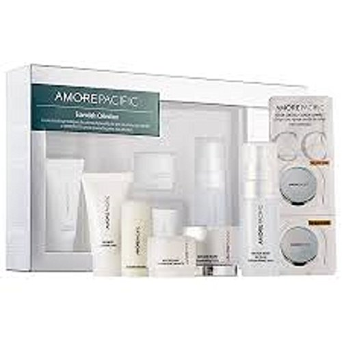AmorePacific essentials collection Cleansing Foam Enzyme Peel Rejuvenating Creme Eye Treatment Gel - Eye Collection Essential