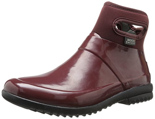 Bogs Women's Seattle Mid Rain Boot,Raisin,9 M US