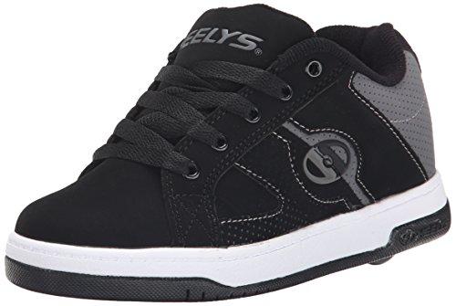 Heelys Split Skate Shoe , Black/Grey, 5 M US Big Kid