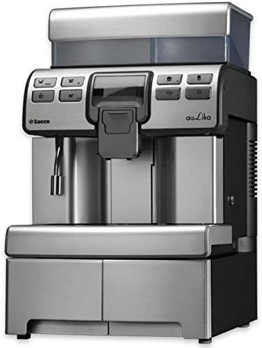 Saeco Aulika One Touch Independiente Máquina espresso 4L Negro, Acero inoxidable - Cafetera (Independiente, Máquina espresso, 4 L, Molinillo integrado, 1400 W, Negro, Acero inoxidable): Amazon.es: Hogar