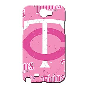 samsung note 2 Series Super Strong High Quality phone case phone back shells minnesota twins mlb baseball