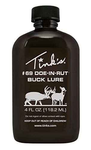 Tink's #69 Doe-in-Rut Buck Lure (4-Ounce)