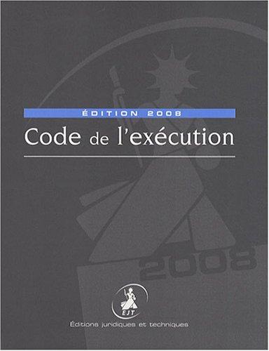 Code de l'exécution Broché – 1 novembre 2007 Natalie Fricero Gabriele Mecarelli Code de l'exécution 2910326586
