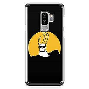 Loud Universe Logo Johny Bravo Samsung S9 Plus Case Black Johny Bravo Samsung S9 Plus Cover with Transparent Edges