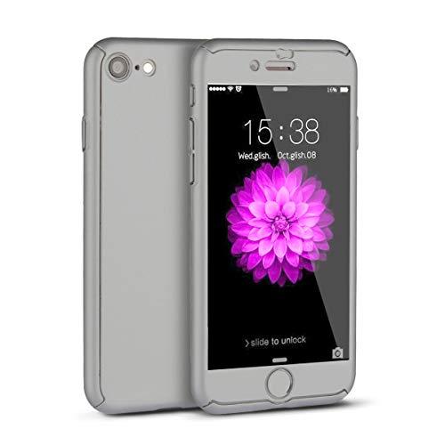 iPhone 6 Case,iPhone 6S Case,I3C 360 All Round Protective Case for iPhone 6/6s 4.7 Inch Grey iPhone 6/6s Case Gray
