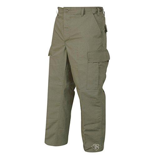 - TRU-SPEC Men's Polyester Cotton Rip Stop BDU Pant, Olive Drab, Medium Short