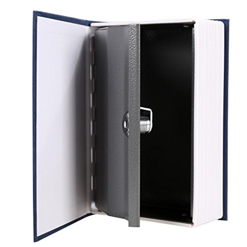 Home Security Dictionary Hollow Book Safe Box Security Lock Secret Lock (Key-Locked, Two Keys, Diversion Safe,
