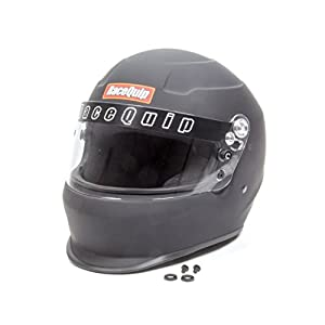 RaceQuip 293995 Flat Black Large PRO15 Side Air Model Full Face Helmet (Snell SA-2015 Rated)