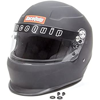 RaceQuip 273995 Flat Black Large PRO15 Full Face Helmet (Snell SA-2015 Rated)