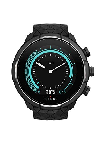 Suunto 9 Multisport GPS Watch with Baro and Wrist Heart Rate (Titanium)