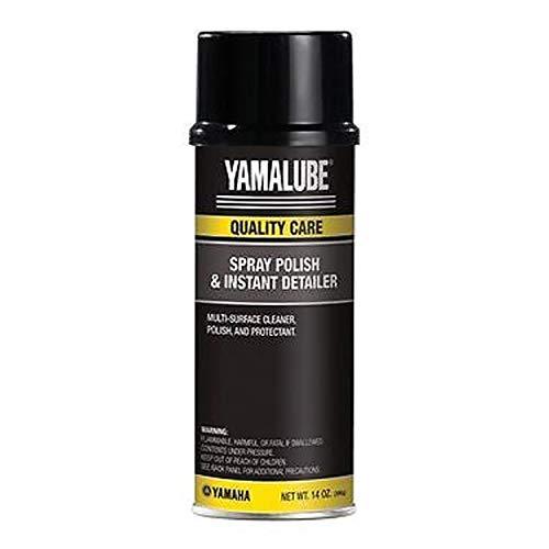 OEM Yamaha Yamalube Spray Polish & Instant Detailer 14 oz Can ACC-SPRAY-PL-SH