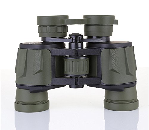 FUHOAHDD Jumelles Télescope Réflecteurs 8x40 Haute définition Imperméable Anti-Brouillard Escalade Randonnée pédestre Observation d'animaux et de Plantes Grande Ouverture Grand Champ de Vision