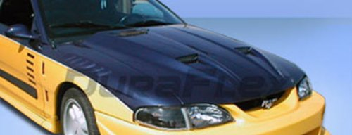 Duraflex Replacement for 1994-1998 Ford Mustang Mach 1 Hood - 1 Piece