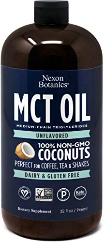 MCT Oil Non GMO Verified Coconut