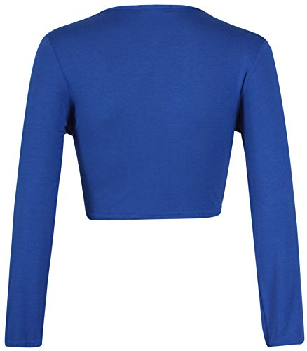 Fashion 4 Less - Torera - universidad - para mujer azul real
