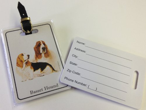 Price comparison product image Luggage Tag - Bassett Hound