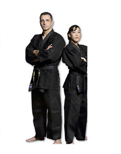 Black Jujitsu Uniform Jujitsu - - Size 7 Black B00404G236, 堺の刃物屋さん こかじ:e75115f8 --- capela.dominiotemporario.com
