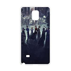 Unique Design Cases Samsung Galaxy Note 4 N9108 Cell Phone Case White fate stay night game Hcdhj Printed Cover Protector