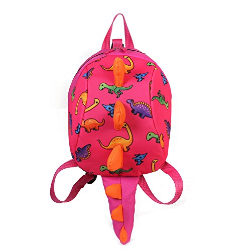 Coavas Kids Safety Harness Backpack Cute Dinosaur Toddler Backpack With Leash Christmas Gift