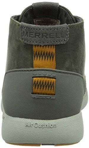 Merrell FREEWHEEL CHUKKA - Zapatillas de cuero para hombre Charcoal