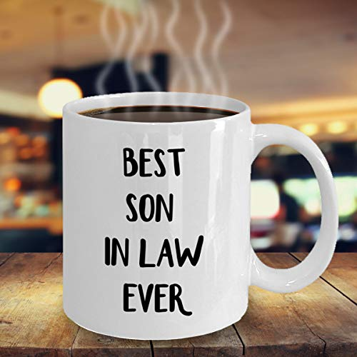 Son In Law Gifts, Funny Gift For Son In Law, Son In Law Mug, Son In Law Coffee Mug, Son In Law Gift Idea, Son In Law Birthday Gift Unique Gift Novelty Ceramic Coffee Mug Tea Cup