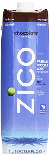 Zico Pure Premium Coconut Water, Chocolate 33.8 Ounce (Pa...