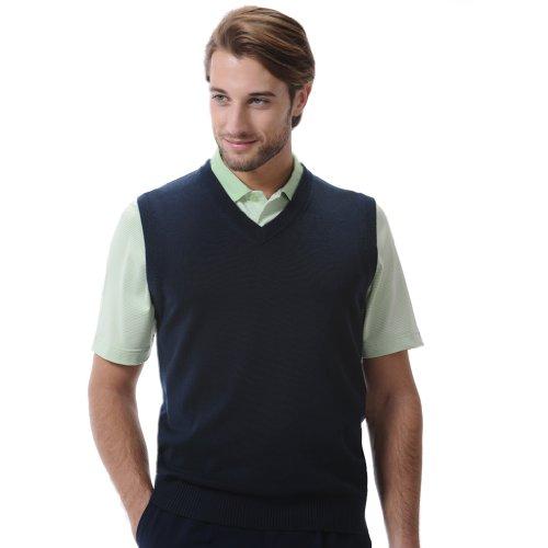 Monterey Club Men's Classic Sweater Vest (Classic Golf Sweater)