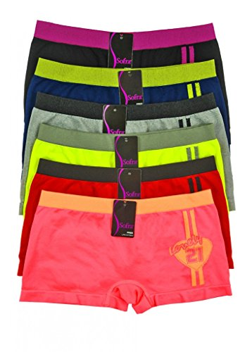 Mamia-Women-Seamless-Stretch-Boy-Shorts-Panties