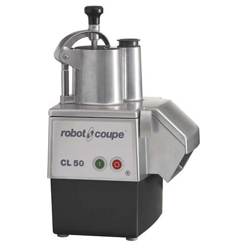 - Robot Coupe CL50E Continuous Feed Food Processor - 1-1/2HP