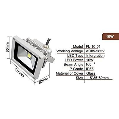 RGB control, 50W : LED Reflet flood light 10W 20W 30W 50W 70W 80W 90W 100W 150W AC85-265V waterproof IP65 Floodlight Spotlight Outdoor Lighting