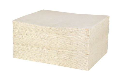 Fiber Hydrocarbon - Sellars 83200 ToolBox DuraSoak Cotton Fiber Oil Only Medium-Duty Absorbent Pad, 16.4 Gallons Absorbancy, 19