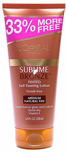 LOreal Paris Self Tanning Streak Free Medium Natural