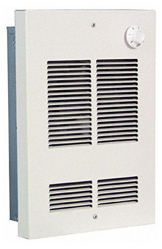 120 Volt, 1,000 Watt, 50 CFM, Shallow Recess Wall Heater, 9-1/4 Wide x 2-1/2 Deep x 12-1/2 High -