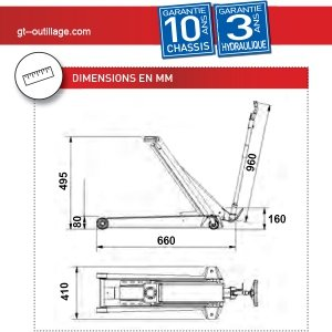 Ac Hydraulic Wagenheber 2 Tonnen Extra Flach Ac Gewerbe Industrie Wissenschaft