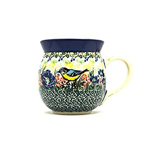 Polish Pottery Mug – 15 oz. Bubble – Unikat Signature U4419