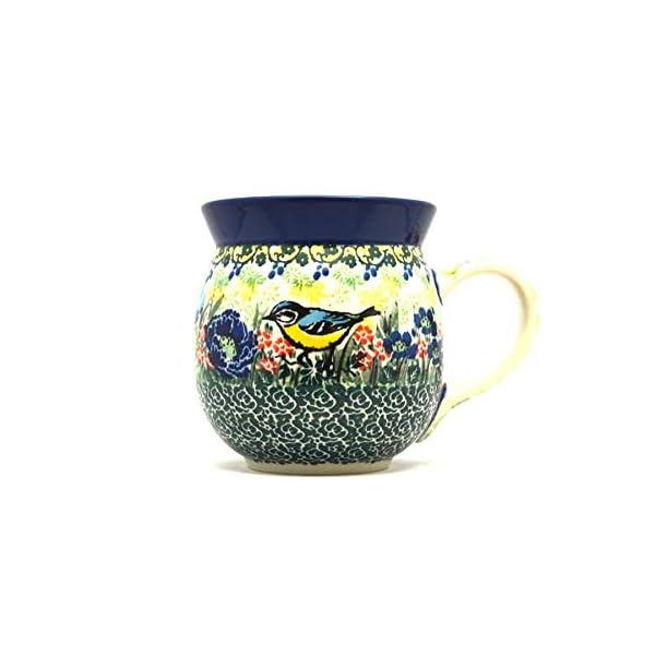 Polish Pottery Mug – 15 oz. Bubble – Unikat Signature U4419