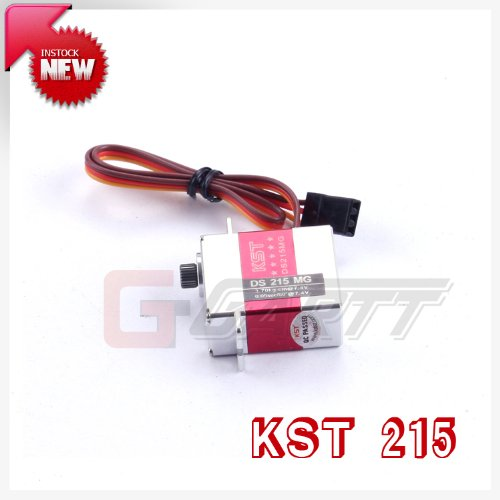 (Gartt KST DS215MG Digital Coreless Swashplate Tail Servo for 450 RC Helicopter)