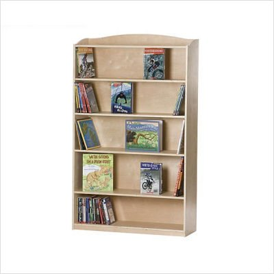 (Guidecraft G97014 SingleSided Kids Bookcase)