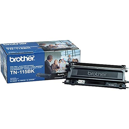 Laser Brother 9045cdn Dcp - Genuine Brother TN115BK Black Toner Cartridge for Brother MFC 9440CN 9450CDN 9840CDW Brother HL 4040CDN 4040CN 4070CDW Brother DCP 9040CN 9045CDN