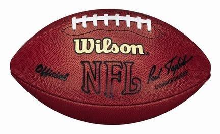 Duke Wilson Football Nfl (Wilson Official NFL Game Football (1993-2005)- Paul Tagliabue Signature)