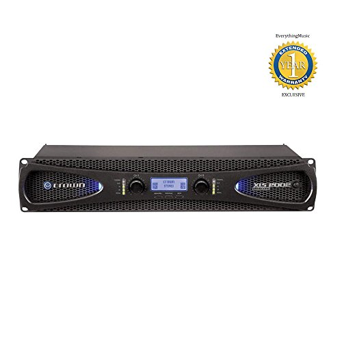 Crown Xls Amp (Crown XLS 2002 2-channel, 650W 4 OHM Power Amplifier with 1 Year Free Extended Warranty)