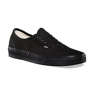 Vans Mens Authentic Core Classic Sneakers (40 M EU / 7.5 D(M) US, Black/Black)