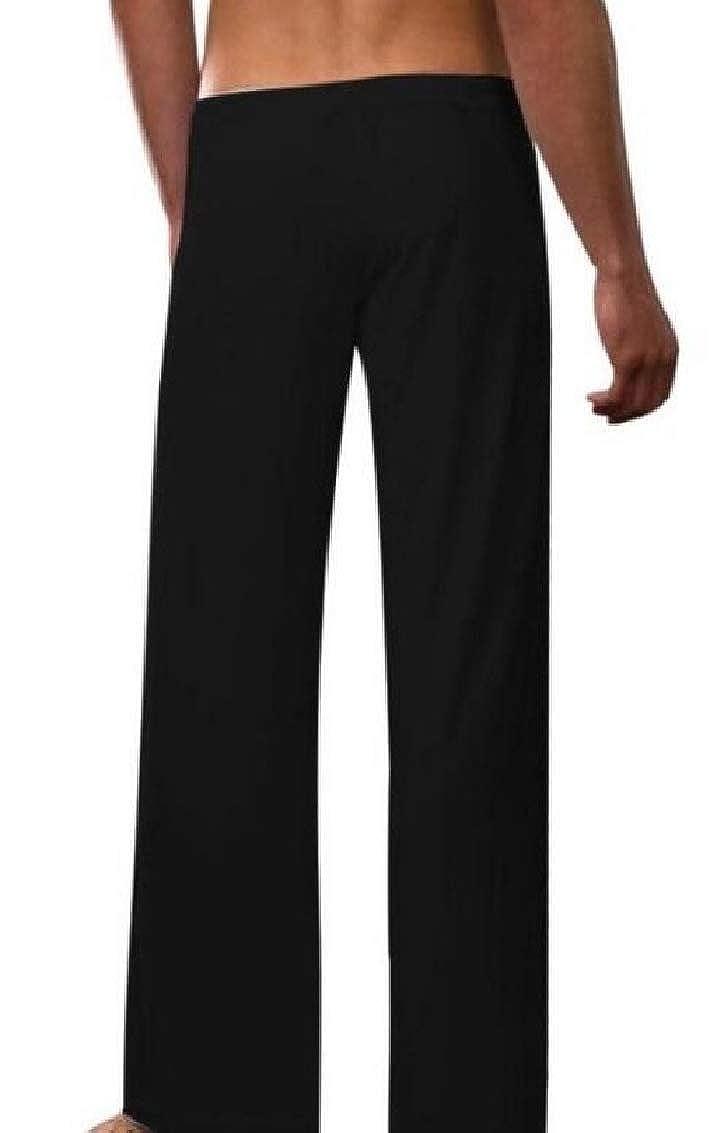 Keaac Mens Loose Super Soft Modal Spandex Harem Yoga Pilates Pant