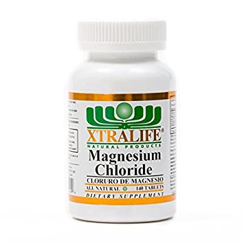 Magnesium Chloride {Cloruro De Magnesio} 140 Tablets by XtraLife