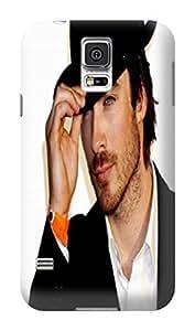 Cool Ian Somerhalder fashionable Print Design for Samsung Galaxy s5 Hard Cover Durable Hard Plastic TPU wangjiang maoyi