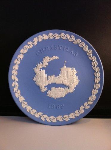 1969 Wedgwood Jasperware Christmas Plate