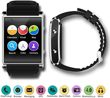 Amazon.com: 1.54-inch AMOLED SmartWatch by Indigi QuadCore ...